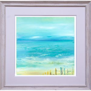 Hope - seascape painting framed Giclée print