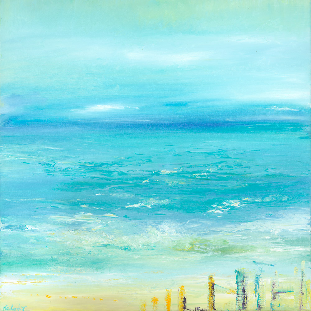 Hope - seascape painting Giclée print