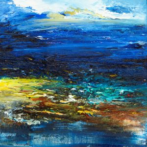 Breakthrough original seascape painting in oil on canvas