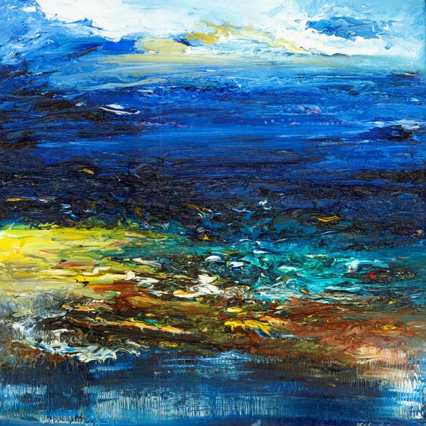Breakthrough original seascape painting in oil on canvas marine art