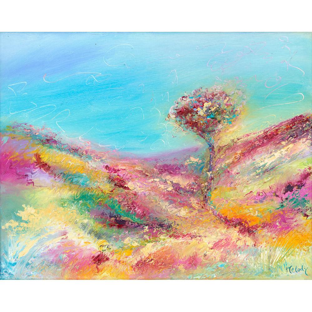 Exmoor Tree original landscape painting