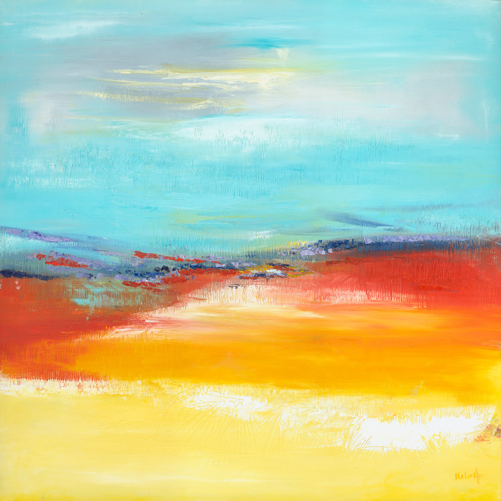 Heaven On Earth abstract painting