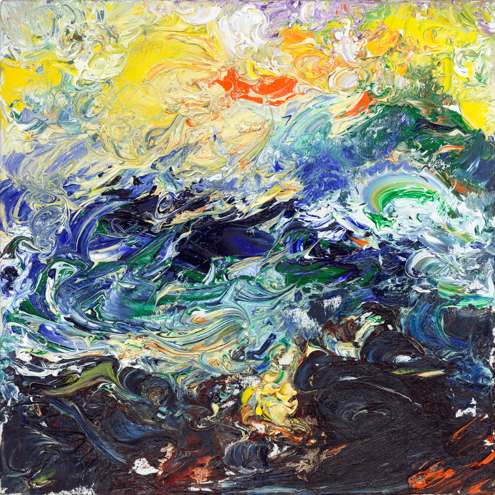 Sea Flight a Seascape Painting turbulent marine drama emotion