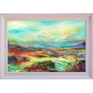 The Blue Gate Landscape Painting of Exmoor