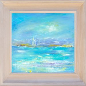 Summer Tide original seascape painting