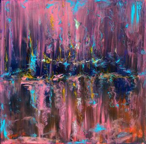 Beyond Imagination - abstract art in oil on canvas