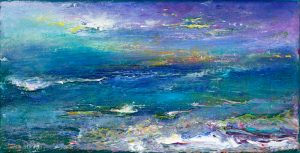 Emily's Seaview - seascape painting in oil on canvas