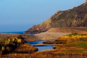 Hurlstone Point - picturesque location where Selworthy Beacon meets Porlock Bay