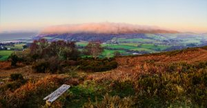 The Cloud Over Selworthy - Orographic Cloud on Exmoor