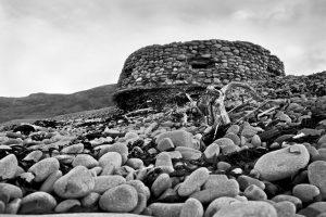 The Watch Tower - Bossington beach on Exmoor