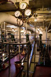 Waverley Engine Room last sea going paddle steamer