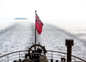 Waverley To Flat Holm - paddle steamer in Bristol Channel