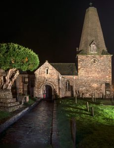 When The Darkness Closes In - St Dubricius Church in Porlock on Exmoor