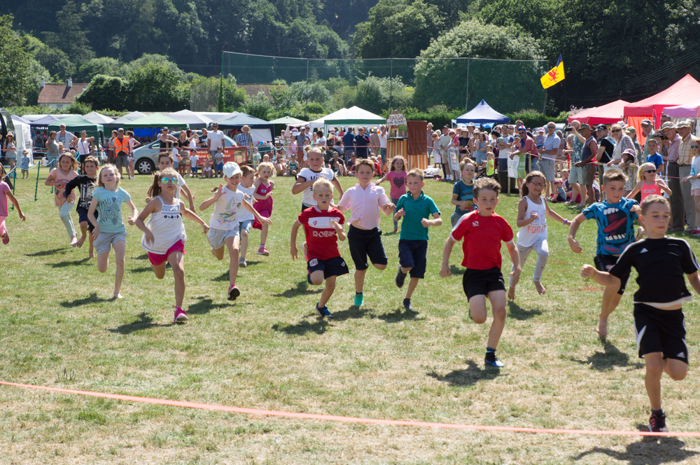 Porlock Country Fair races
