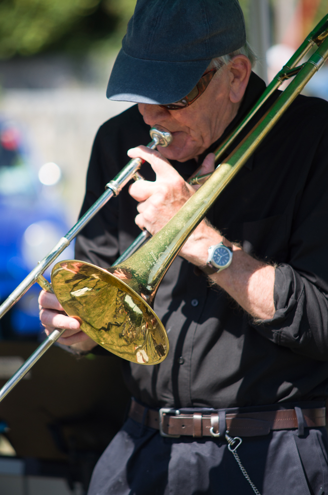Porlock Country Fair Trombone Player