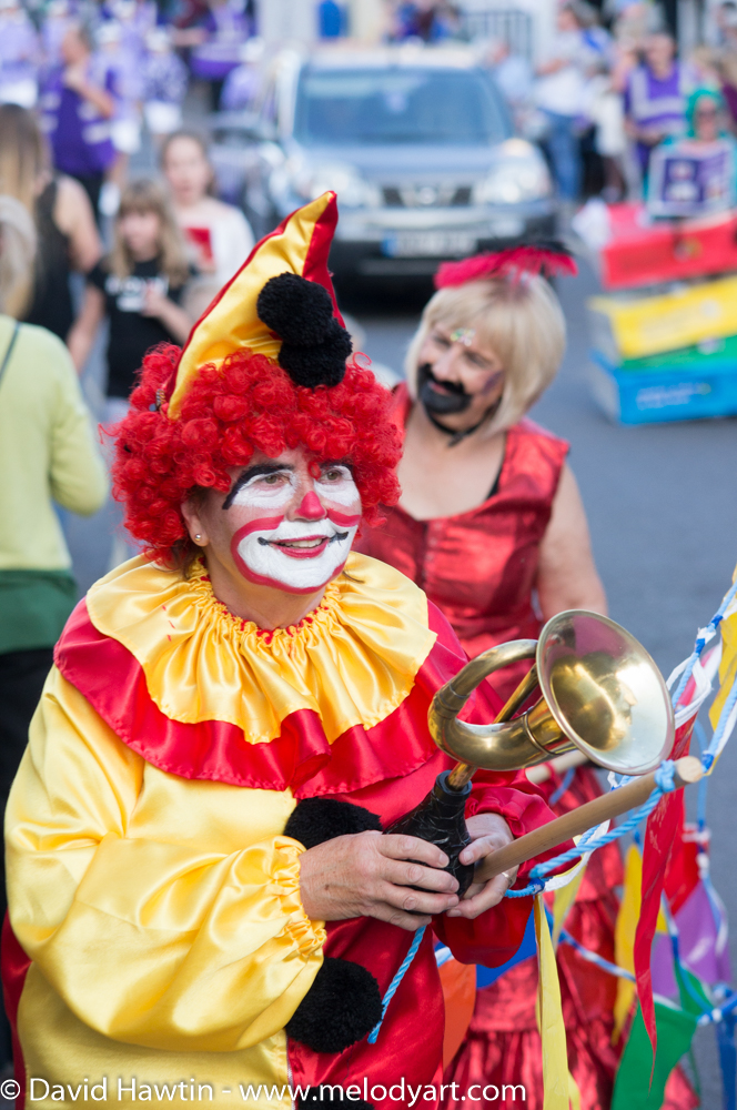 Porlock Carnival Clown