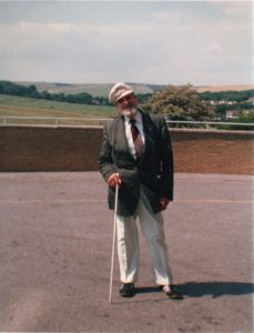 Elmer Richards St Dunstans warblind veteran