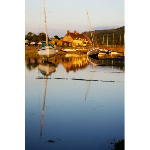Evening Light At Porlock Weir