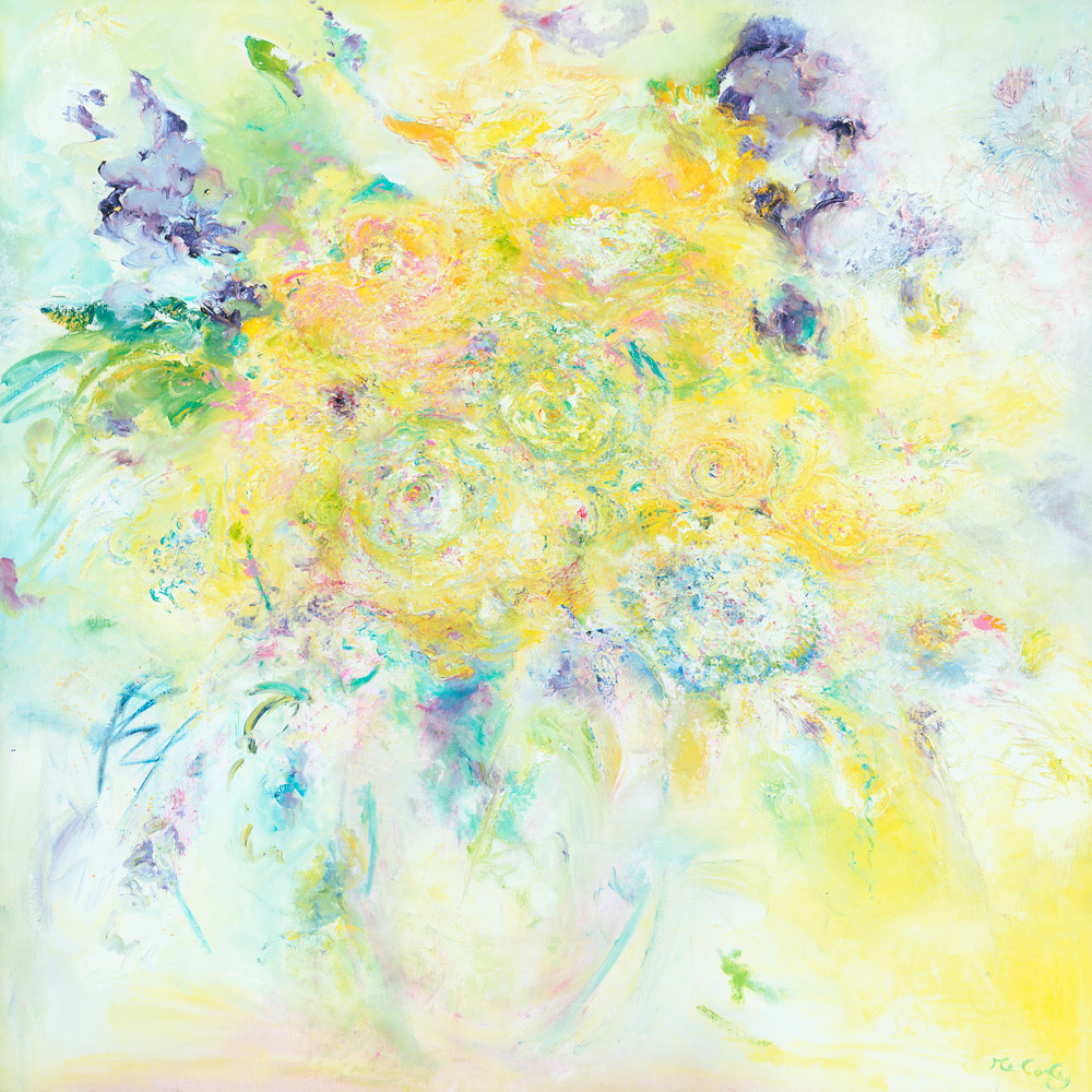 flower paintings by artist melody melody art exmoor