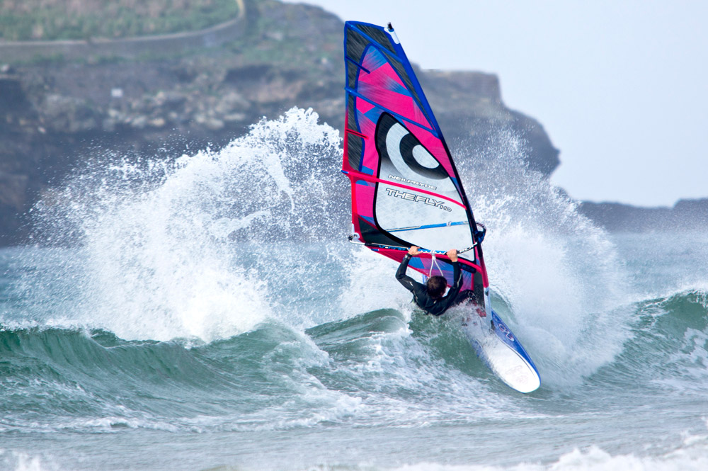 windsurfing by david solway