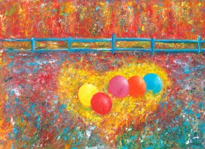 Balloons For A Monday fun painting