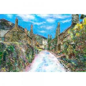 Bossington Village Exmoor