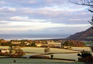 Frost At Porlock Vale