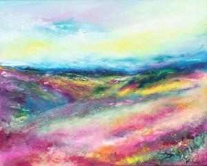 Love Exmoor Summer Landscape