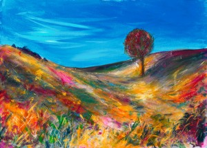 My Lovely Exmoor landscape painting