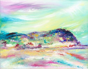 North Hill Minehead landscape and coastal painting