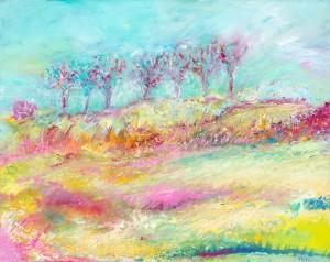 Seven Sisters landscape painting