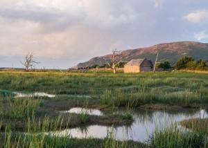 The Barn On Porlock Marsh landscape photograph on Exmoor