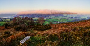 The Cloud Over Selworthy landscape photograph on Exmoor
