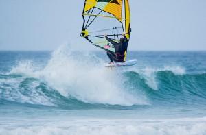 Windsurfing At Godrevey
