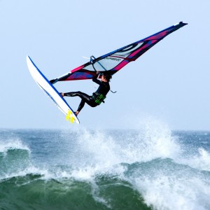 Windsurfing At Godrevey 4