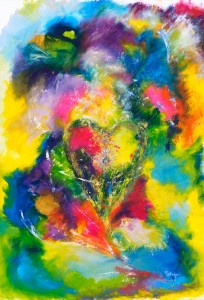 You Have My Heart abstract painting